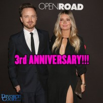 Aaron Paul & Lauren Parsekian married on May 26th, 2013