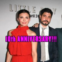 Ali Landry and film director Alejandro Gomez Monteverde were married on April 8, 2006