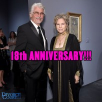James Brolin & Barbra Streisand married on July 1st, 1998