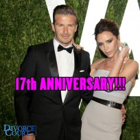David and Victoria Beckham were married on July 4, 1999