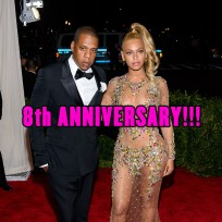 Beyonce & Jay Z were married on April 4, 2008