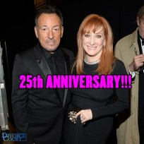 Bruce Springsteen & Patti Scialfa were married on June 8th, 1991