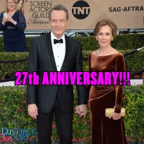 Bryan Cranston & Robin Dearden were married on July 8, 1989