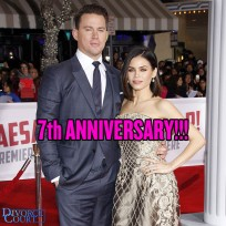 Channing Tatum & Jenna Dewan Tatum married on July 11, 2009