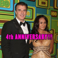 Chris Noth and wife Tara Wilson were married on April 6, 2012