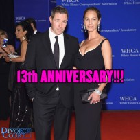 Christy Turlington & Ed Burns were married on June 7th, 2003