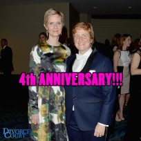 Cynthia Nixon & Christine Marinoni married on May 27th, 2012