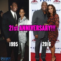 Holly Robinson Peete & Rodney Peete married on June 10, 1995