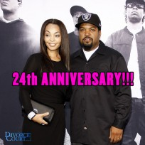Ice Cube and wife Kimberly Woodruff were married on April 26, 1992