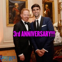 Jesse Tyler Ferguson married Justin Mikita on July 20, 2013