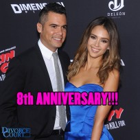 Jessica Alba & Cash Warren were married on May 19, 2008