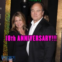 Jim Belushi & wife Jennifer were married on May 2, 1998