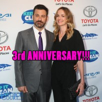 Jimmy Kimmel & Molly McNearney married on July 13, 2013