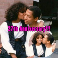 Judge Lynn Toler and husband Big E were married on April 6, 1989