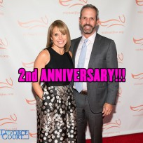 Katie Couric and  John Molner were married on June 21, 2014