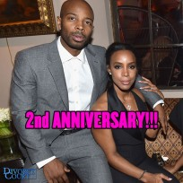 Kelly Rowland & Time Witherspoon were married on May 9th, 2014