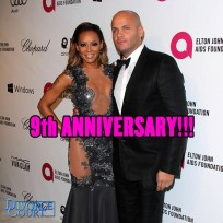 Mel B & Stephen Belafonte were married on June 6th, 2007