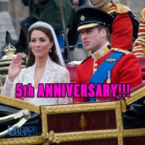 Prince William & Kate Middleton were married on April 29, 2011