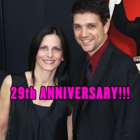 Ralph Macchio and wife Phyllis Fierro were married on April 5, 1987