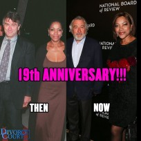 Robert De Niro & Grace HIghtower were married on  June 17, 1997