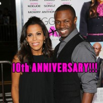 Sean Patrick Thomas and wife Aonika Laurent were married on April 22, 2006