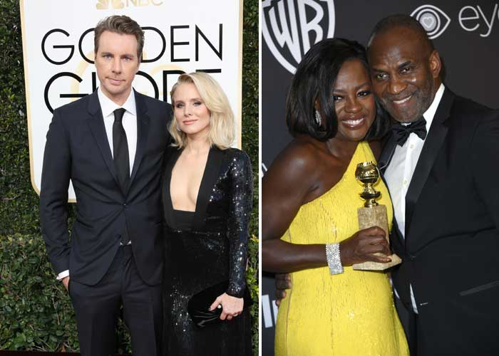 2017 Golden Globe Couples